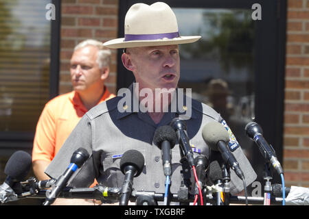 New York State Police Major Charles Guess discusses recent