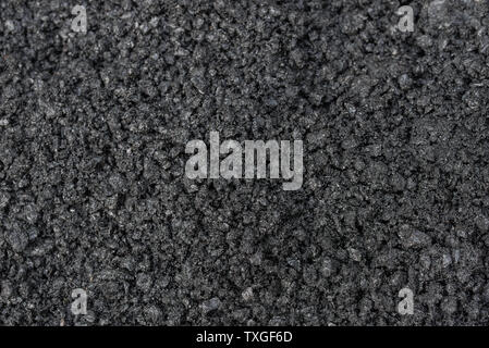 asphalt or bitumen raw materials closeup