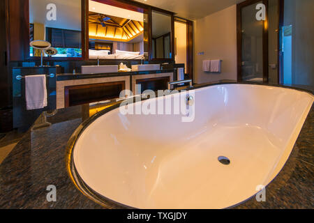 Four Seasons Hotel Mauritius - Stock Photo