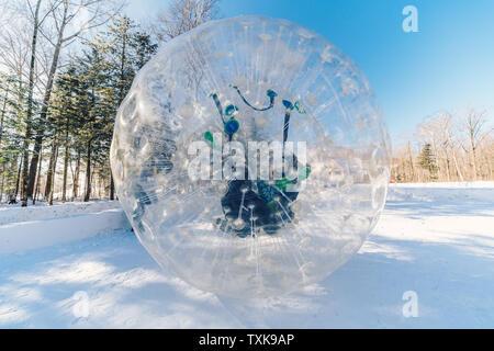 Changbai Mountain Wanda Ski Resort Amusement Project - Stock Photo