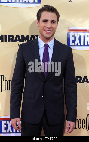 Dustin Milligan, a cast member in the motion picture comedy 'Extract', attends the premiere of the film at the Arclight Cinerama Dome in Los Angeles on August 24, 2009.    UPI/Jim Ruymen - Stock Photo