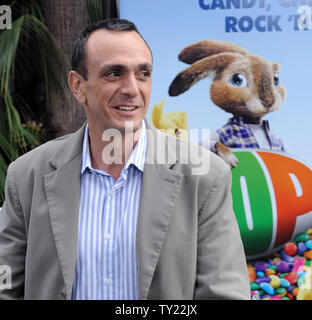 Actor Hank Azaria, the voices of Carlos and Phil in the animated motion picture comedy 'Hop', arrives at the premiere of film at Universal Studios in Universal City, California on March 27, 2011.   UPI/Jim Ruymen - Stock Photo
