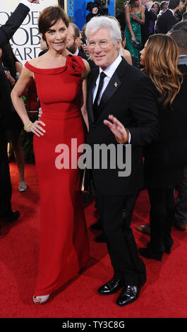 Actor Richard Gere and his wife Carey Lowell attend the ...Richard Gere 2013 Wife