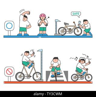 illustration of attention to health and safety when the seasons change 016 - Stock Photo