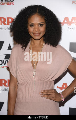 Actress Kimberly Elise attends AARP the Magazine's 'Movies for Grownups Awards' at the Peninsula Hotel in Beverly Hills, California on February 12, 2013.      UPI/Phil McCarten - Stock Photo