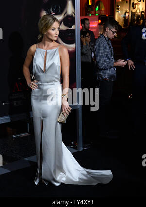 Cast member Annabelle Wallis attends the premiere of the