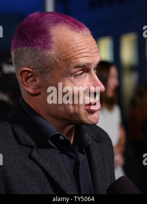 Cast member Flea attends the premiere of the biographical motion picture drama 'Low Down' at the Arclight Cinerama Dome in the Hollywood section of Los Angeles on October 23, 2014. Storyline:  A look at the life of pianist Joe Albany from the perspective of his young daughter, as she watches him contend with his drug addiction during the 1960s and '70s jazz scene.  UPI/Jim Ruymen - Stock Photo