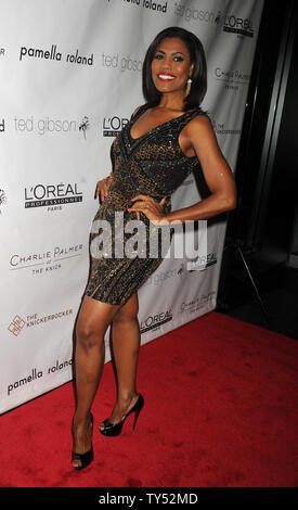 Manhattan, United States Of America. 15th Nov, 2015. NEW YORK, NY - NOVEMBER 14: Omarosa Manigault-Stallworth attends the Ted Gibson's 50th birthday celebration at the Knickerbocker Hotel & Rooftop on November 14, 2015 in New York City People: Omarosa Manigault-Stallworth Credit: Storms Media Group/Alamy Live News - Stock Photo