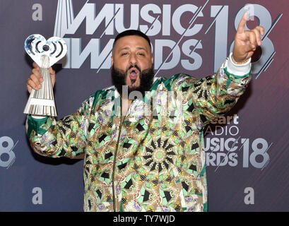 DJ Khaled, winner of Hip Hop Song of the Year award for