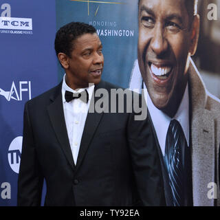 Honoree Denzel Washington attends the 47th annual AFI Life Achievement Award tribute gala at the Dolby Theatre in the Hollywood section of Los Angeles on June 6, 2019.   Photo by Jim Ruymen/UPI - Stock Photo