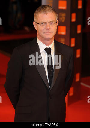 British director Stephen Daldry attends the 'Orange British Academy Film Awards' at the Royal Opera House in London on February 8, 2009.  (UPI Photo/Rune Hellestad) - Stock Photo