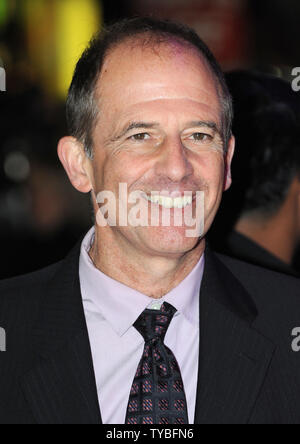American director Michael Hoffman attends The World Premiere of 'Gambit' at The Empire Cinema in London on November 7, 2012.     UPI/Paul Treadway.. - Stock Photo