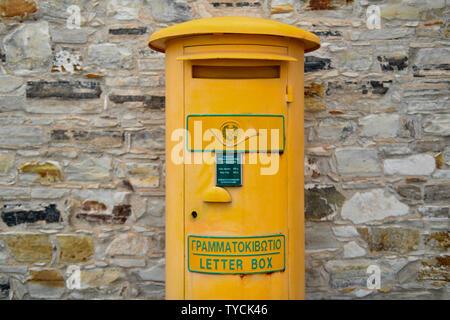 Briefkasten, Pano Lefkara, Republik Zypern - Stock Photo