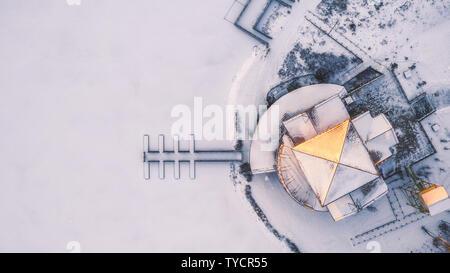 Changbai Mountain Wanda Ski Resort - Stock Photo