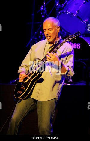 Peter Frampton performs in concert at the Bank Atlantic Center in Sunrise, Florida on October 21, 2006. (UPI Photo/Michael Bush) - Stock Photo