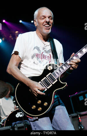 Peter Frampton performs in concert at the Seminole Hard Rock Hotel and Casino in Hollywood, Florida on August 19, 2007. (UPI Photo/Michael Bush) - Stock Photo