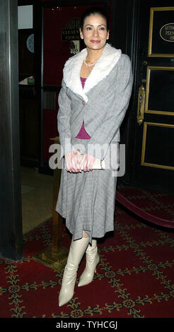 Constance Marie arrives for the premiere 'The Pink Panther' at the Ziegfeld Theater in New York on February 6, 2006.   (UPI Photo/Laura Cavanaugh) - Stock Photo