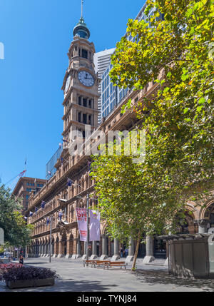 The old GPO Building, now the Westin Hotel, Martin Place, Sydney, New South Wales, Australia - Stock Photo