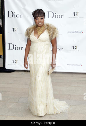 Star Jones arrives on the red carpet at the American Ballet Theatre Opening Night Spring Gala the Metropolitan Opera House at Lincoln Center in New York City on May 13, 2013.    UPI/John Angelillo - Stock Photo