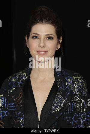 Marisa Tomei arrives on the red carpet at the New York Premiere of 'Trainwreck' at Alice Tully Hall  in New York City on July 14, 2015.        Photo by John Angelillo/UPI - Stock Photo