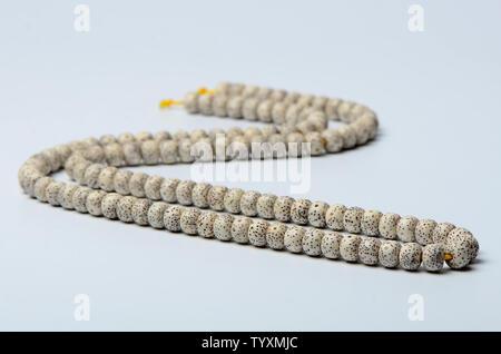 108 stars, moon, Bodhi handstring - Stock Photo