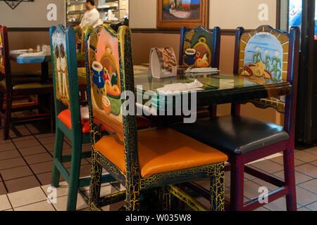 Mexican Kitchen Decor Stock Photo Alamy