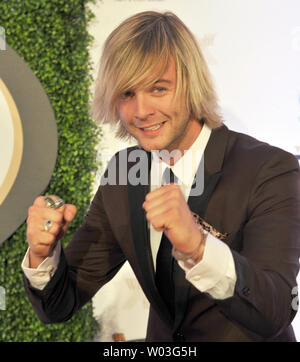 Keith Harkin arrives at Muhammad Ali's Celebrity Fight Night which raises money for the Muhammad Ali Parkinson Center at Barrow Neurological Center in Phoenix, Arizona, March 23, 2013. UPI/Art Foxall - Stock Photo