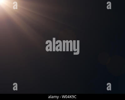Sun bright flares background glow light bright for overlay sun background design - Stock Photo