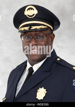 The St. Louis Police Department has promoted Col. John Hayden to the rank of Police Chief, in St. Louis on December 28, 2017. Hayden, a 30-year veteran of the St. Louis Metropolitan Police Department was born and raised in St. Louis. For the first time in more than 150 years, St. Louis had the opprutunity to pick a police chief from outside of its own department but decided not to.   Photo by St. Louis Metrolpolitian Police Department/UPI - Stock Photo