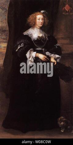 Anthony van Dyck - Marie De Raet 1631 - Stock Photo