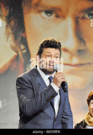 Actor Andy Serkis attends the Japan premiere for the film 'The Hobbit: An Unexpected Journey' in Tokyo, Japan, on December 1, 2012. The film will open on December 14 in Japan.     UPI/Keizo Mori - Stock Photo