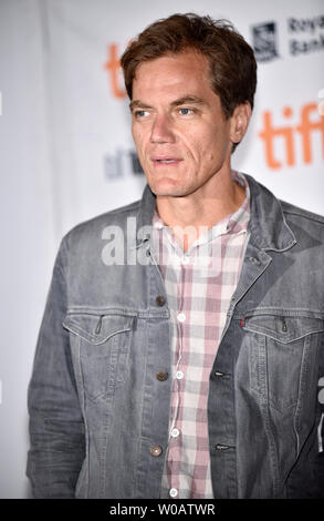 Michael Shannon attends the world premiere of 'The Current War' at the Princess of Wales Theatre during the Toronto International Film Festival in Toronto, Canada on September 9, 2017. Photo by Christine Chew/UPI - Stock Photo