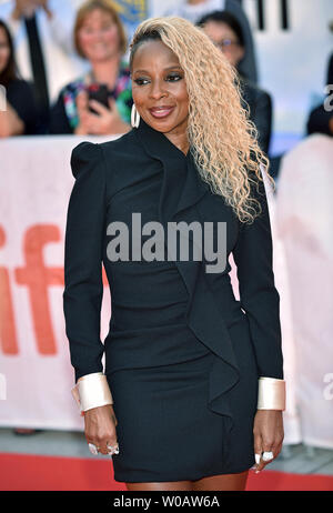 Mary J. Blige attends the Toronto International Film Festival Gala screening of 'Mudbound' at Roy Thomson Hall in Toronto, Canada on September 12, 2017. Photo by Christine Chew/UPI - Stock Photo