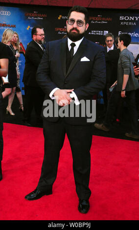 Hollywood, California, USA 26th June 2019 Actor Juan Paradiso attends Columbia Pictures Presents The World Premiere of 'Spider-Man Far From Home' on June 26, 2019 at TCl Chinese Theatre in Hollywood, California, USA. Photo by Barry King/Alamy Live News - Stock Photo