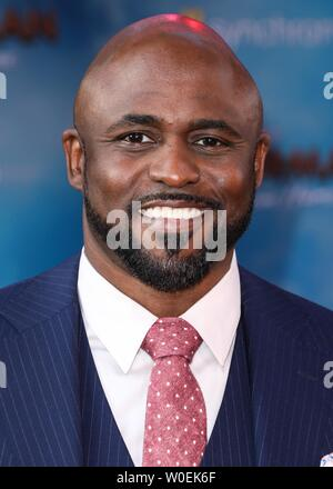 Hollywood, United States. 26th June, 2019. HOLLYWOOD, LOS ANGELES, CALIFORNIA, USA - JUNE 26: Wayne Brady arrives at the Premiere Of Sony Pictures' 'Spider-Man Far From Home' held at the TCL Chinese Theatre IMAX on June 26, 2019 in Hollywood, Los Angeles, California, United States. (Photo by David Acosta/Image Press Agency) Credit: Image Press Agency/Alamy Live News - Stock Photo