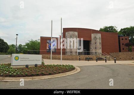 The Smithsonian Anacostia Community Museum is seen in Washington on May 22, 2010. UPI/Alexis C. Glenn - Stock Photo