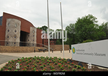 The Smithsonian Anacostia Community Museum is seen in Washington on May 22, 2010. UPI/Alexis C. Glenn - Stock Photo