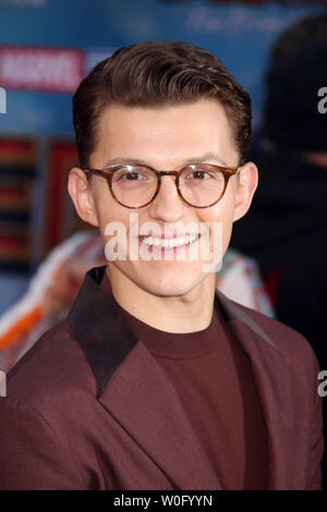 Tom Holland  06/26/2019 'Spider-Man: Far From Home' Premiere held at the TCL Chinese Theatre in Hollywood, CA Photo by K. Hirata / HNW / PictureLux - Stock Photo