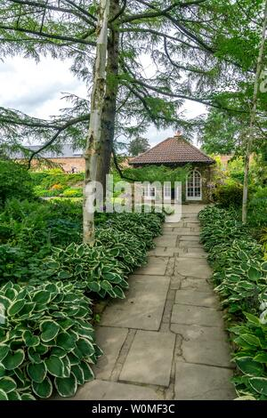 Wentworth woodhouse gardens old tea room, Wentworth, Rotherham, South Yorkshire, England, UK - Stock Photo