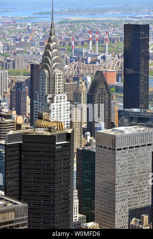 View of skyscrapers of New York City