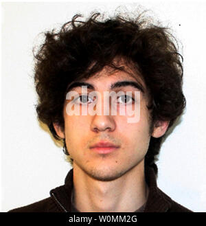 The FBI released a photo of Suspect 2, now identified as Dzhokhar Tsarnaev, 19, of Cambridge, Massachusetts on April 19, 2013. He and his brother Tamerlan Tsarnaev, 26, are suspected of planting the bombs that killed three and injured 170 during the Boston Marathon on April 15, 2013.  Tamerlan was killed by police on April 18, 2013 and Dzhokhar is still on the loose near Boston.     UPI - Stock Photo