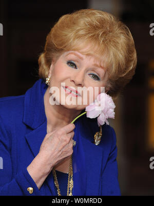 Debbie Reynolds, 84, died in Los Angeles on December 28, 2016,  one day after her daughter Carrie Fisher died.  Fisher, 60, suffered a heart issue on a flight from London to Los Angeles late last week.   Reynolds is shown promoting her UK tour 'Alive & Fabulous'   in London on April 1, 2010.   File Photo by Rune Hellstad/UPI - Stock Photo