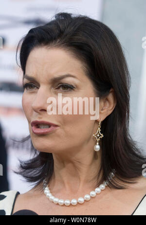 Sela Ward attends the world premiere of 'The Guardian' to benefit the United States Coast Guard Foundation, Inc. in Washington, DC on September 7, 2007.  (UPI Photo/ Kamenko Pajic) - Stock Photo