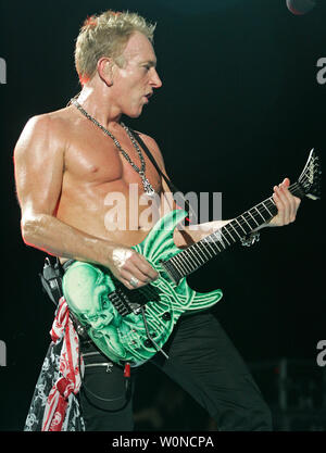 phil collen with def leppard performs in concert at the cruzan amphitheatre in west palm beach. Black Bedroom Furniture Sets. Home Design Ideas