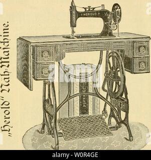 Archive image from page 241 of Der praktische milchwirth Enthaltend eine. Der praktische milchwirth. Enthaltend eine auf praktischen erfahrungen und studien beruhende leicht fassliche anleitung zum rationellen betriebe der milchwirthschaft auf der farm, mit einem besonderen abschnitte über die fütterung des milchviehes derpraktischemil00veit Year: 1894  $20.00 vexfSenSitl SBir abcn mit bcr berümtcftcn'KöIjWofdiincngQfcriE beä Sanbc? ein Ueberetnfommen getroffen, m n)cld)em bieiftbc eine -JiiifjWaidiine feinfter öonftvuction ausfdjlieijltd) für unferen Sebarf l)erjufteUcn l)Qt. iejc SDJafdjine - Stock Photo