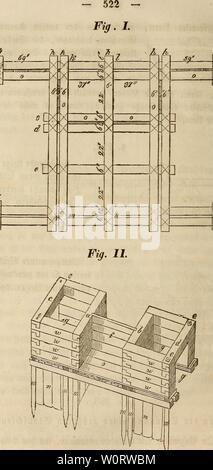 Archive image from page 549 of Der wiesenbau in seinem ganzen. Der wiesenbau in seinem ganzen umfange derwiesenbauinse00hafe Year: 1847 - Stock Photo
