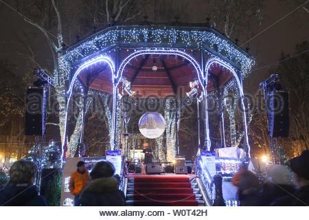 Zagreb Croatia Music Pavilion In The Zrinjevac Park Stock Photo Alamy