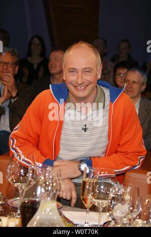 Emmanuel Peterfalvi aka 'Alfons' (Kabarettist), NDR Talkshow, Hamburg, 06.04.2018