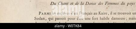Archive image from page 747 of Description de l'Égypte, ou, Recueil - Stock Photo