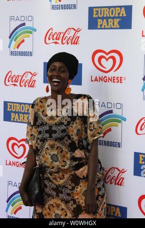 Sonderpreis 2018, Fatuma Musa Afrah beim Radio Regenbogen Award Rust 2019 - Stock Photo